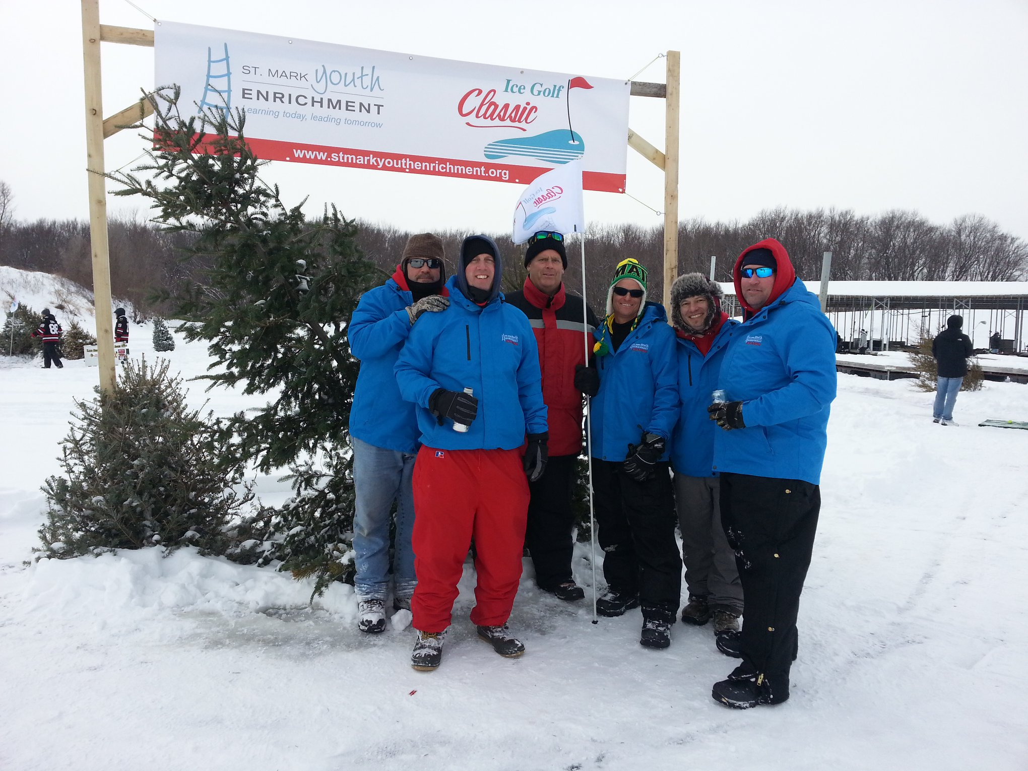 annual ice golf classic st mark youth enrichment